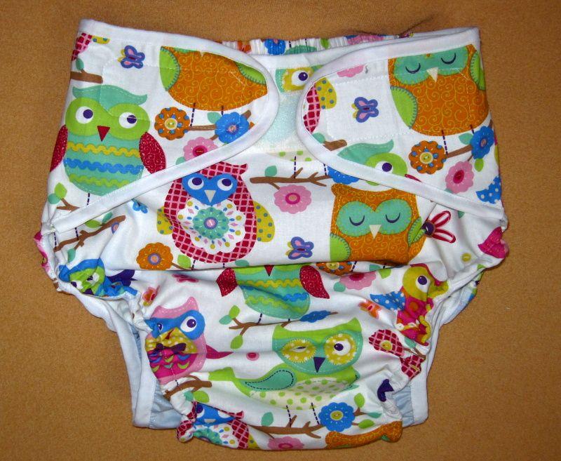 Zavinovací plenkové kalhotky