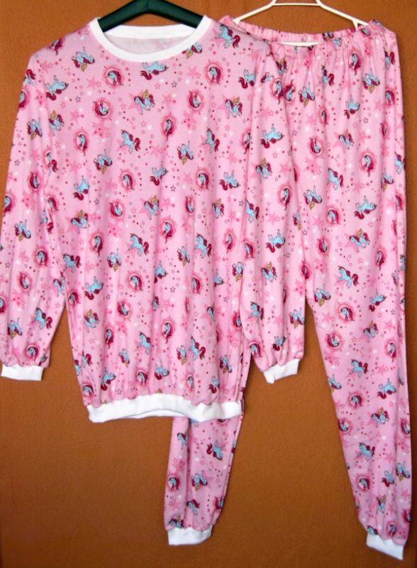 Úpletové pyžamo