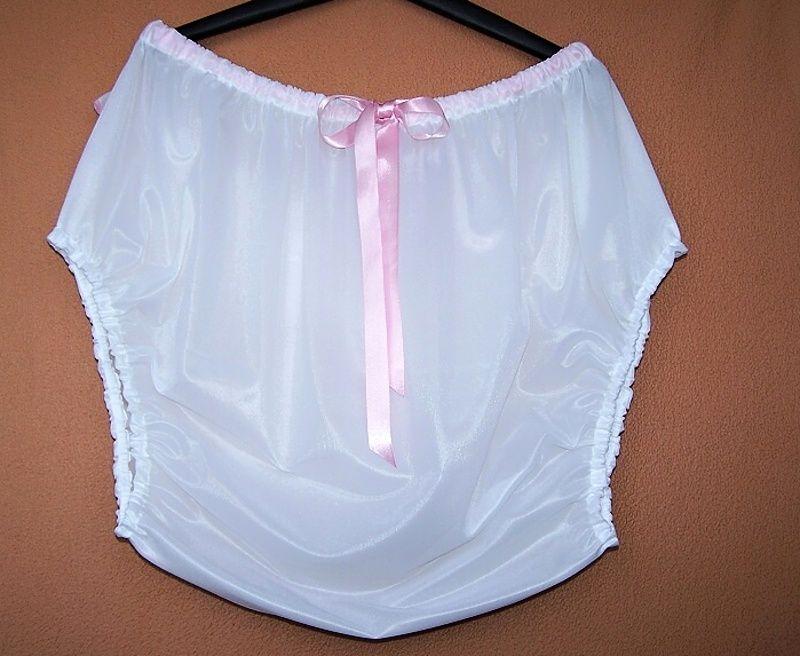 Plenkové kalhotky s něžnou mašličkou - dederon