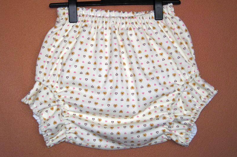 Plenkové kalhotky s nohavičkami