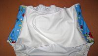 Zapínací kalhotky s vnitřními křidélky