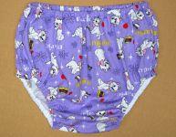 """Nepropustné plenkové kalhotky """"mama"""" - Medvědi s puntíkama"""