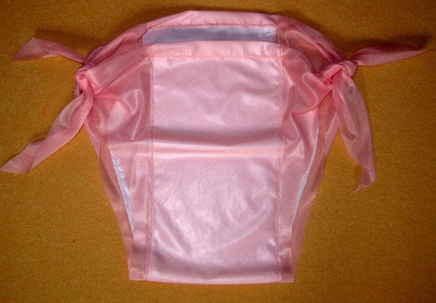 Zavazovací kalhotky dederon/PVC