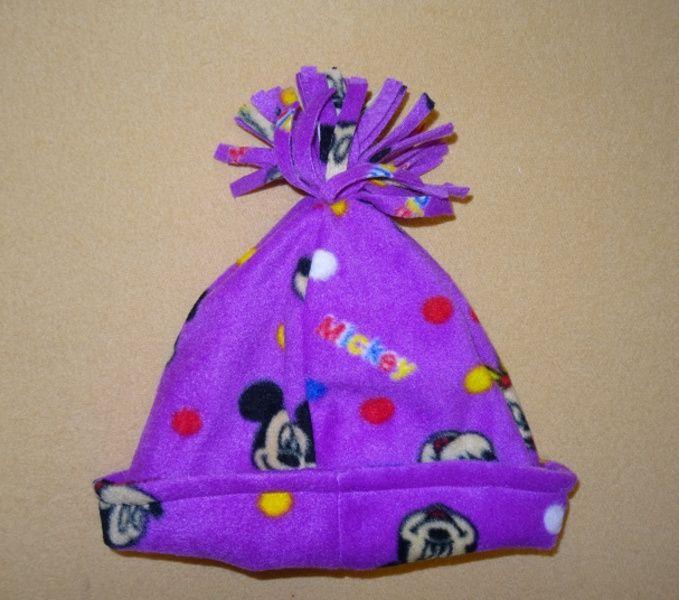 Zimní čepice se střapcem