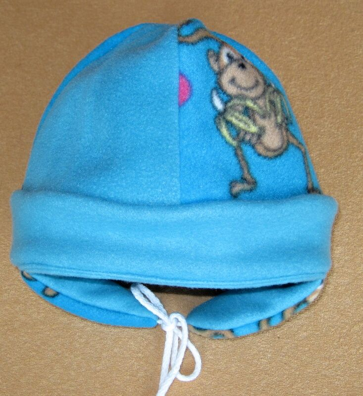 Zimní čepice s klapkami