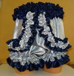 Saténové spodní kalhotky BLUE MOON